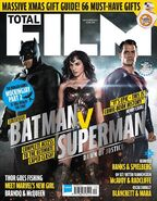 Batman v Superman Dawn of Justice Total Film Cover
