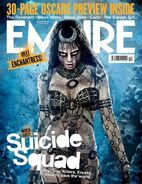 Empire Cover Suicide Squad Dezember 2015 Version Enchantress