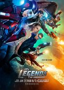 Legends of Tomorrow Staffel 1 Poster