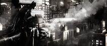 Batman Begins Konzeptzeichnung 8