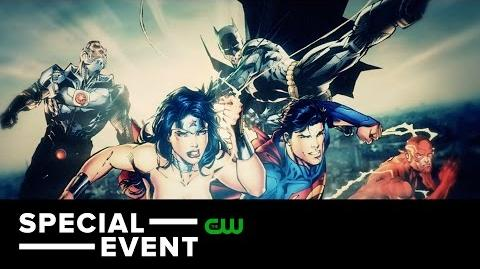 Special Dawn of the Justice League Geoff Johns and Kevin Smith Trailer The CW-0