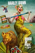 Birds of Prey deutsches Charakterposter Harley Quinn