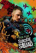 Suicide Squad deutsches Charakterposter Rick Flag