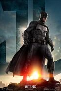 Justice League deutsches Batman Charakterposter