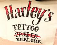 Harley Quinn Tattoostudiologo