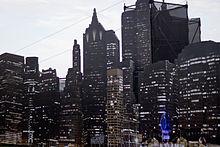 Gotham City backdrop for Gotham TV series
