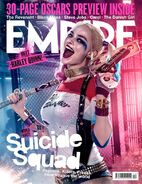 Empire Cover Suicide Squad Dezember 2015 Version Harley Quinn