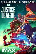 Justice League IMAX Poster 2