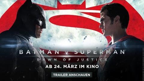 BATMAN V SUPERMAN DAWN OF JUSTICE - Spot 8 Deutsch HD German