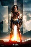 Justice League deutsches Wonder Woman Charakterposter