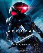 Aquaman Black Manta Charakterposter