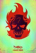 Suicide Squad Charakterposter Diablo