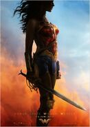 Wonder Woman deutsches Teaserposter