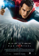 Man of Steel deutsches Kinoposter
