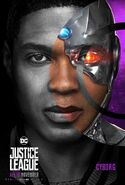 Justice League Cyborg Charakterposter 4