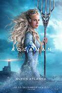 Aquaman Atlanna deutsches Charakterposter