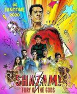 Shazam! Fury of the Gods DC Fandome-Poster