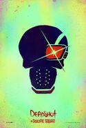Suicide Squad Charakterposter Deadshot