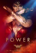 Wonder Woman Teaserposter Power