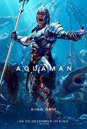 Aquaman Orm deutsches Charakterposter