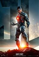 Justice League Cyborg Charakterposter