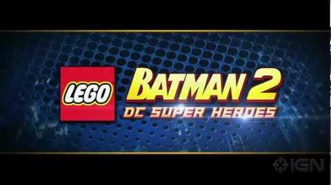 LEGO Batman 2 - Open World Gameplay Clip