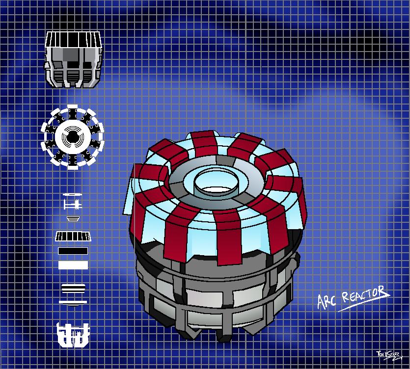 Image arc reactor mark i blue printsg dcmarvel fan fiction arc reactor mark i blue printsg malvernweather Choice Image