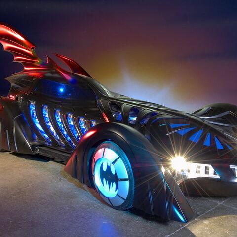 Batmobile in <i>Batman Forever</i>.