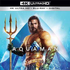 Aquaman 4K Ultra Blu Ray