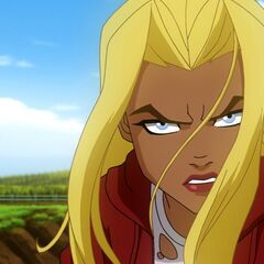 Kara Zor-El as she appears in <i>Superman/Batman: Apocalypse</i>.
