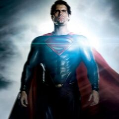 Superman poster.