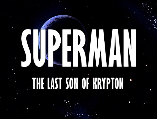 Image result for last son of krypton title card