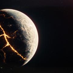 Krypton breaks apart