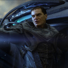 Zod orders an attack.