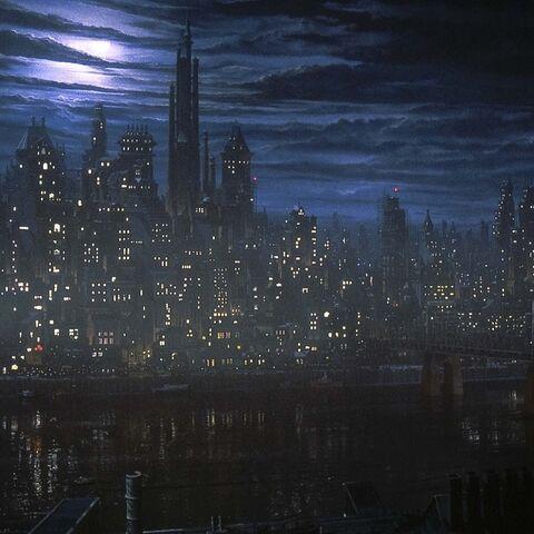 Gotham in <i>Batman</i>
