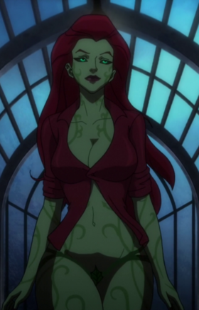 Poison Ivy Batman Assult on Arkhum