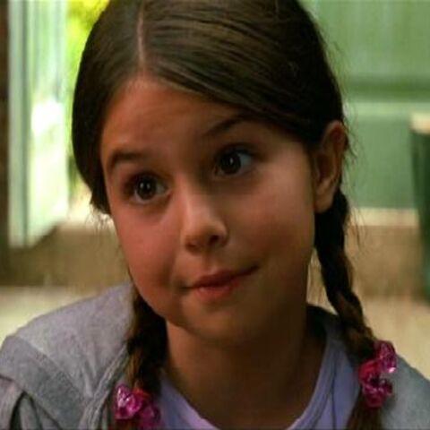 Emma Lockhart as Young Rachel Dawes.