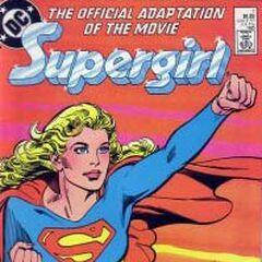 Supergirl comic book adaptation.