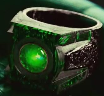 Green Lantern Replica Ring And Lantern