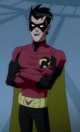 Damian Wayne (Robin) BMUMvsM 01