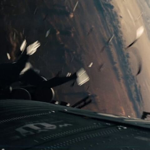 Wayne Enterprises satellite.