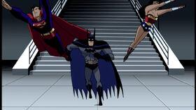 Superman, Batman, and Wonder Woman (Justice League Unlimited)