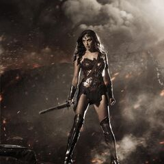 First look at Wonder Woman.