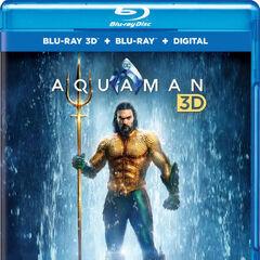 Aquaman Blu Ray 3D