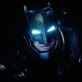 Bruce's second Batsuit.
