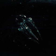 The <i>Black Zero</i> arrives in orbit over one of the Kryptonian colony worlds