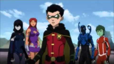 Justice League vs Teen Titans - Exclusive Sneak Peek