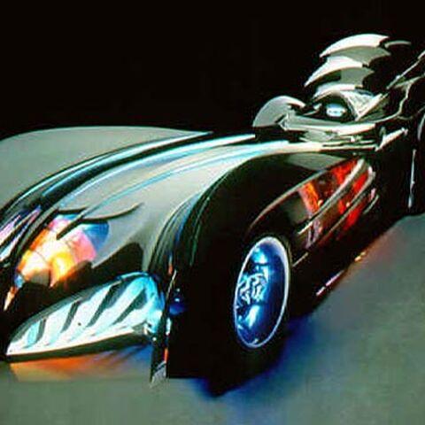 Batmobile in <i>Batman &amp; Robin</i>.