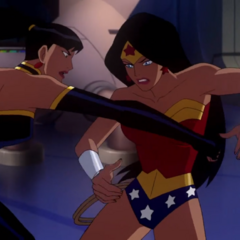 Superwoman vs Wonder Woman.