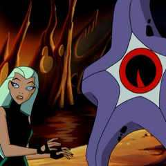 Aquagirl wants to get Starro's spore back to its home planet.